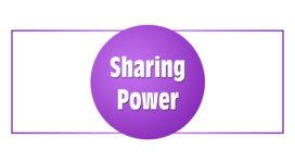 Sharing Power (v. Empowering)