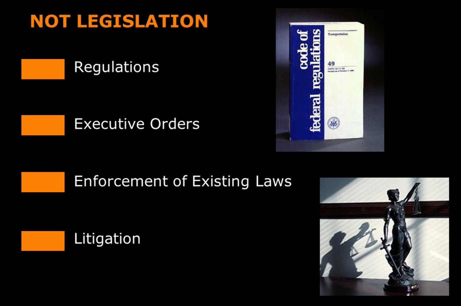 9 - not lobbying