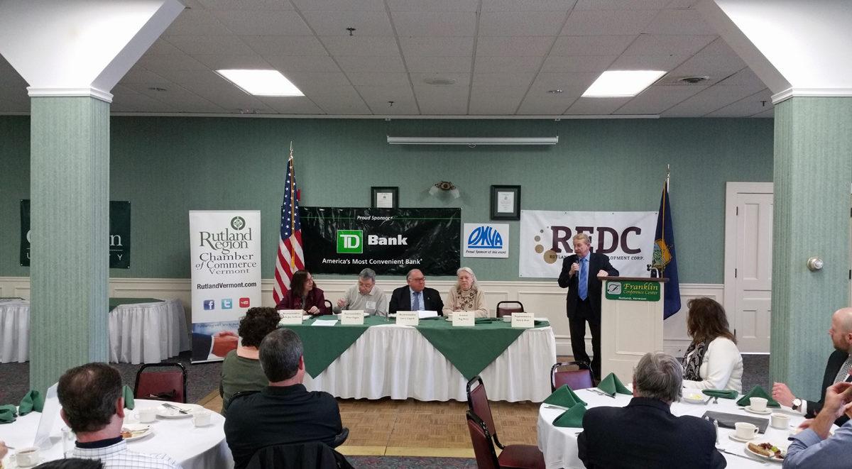 Rutland Legislative Breakfast (photo from Rutland website)