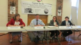 Bennington candidate forum, photo from VTDigger